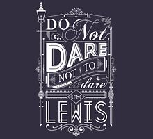 Lewis Typography Unisex T-Shirt