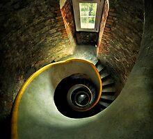 Inside the old lighthouse by JBlaminsky