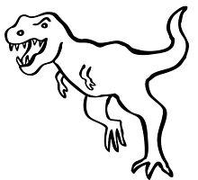 I'm a T-Rex! by ghostgoose