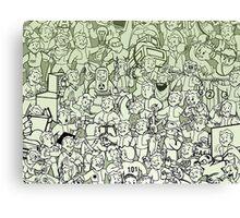 Fallout-- Vault Boys Canvas Print
