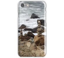 The Rocky Shore At Point Judith, RI Lighthouse [9] iPhone Case/Skin
