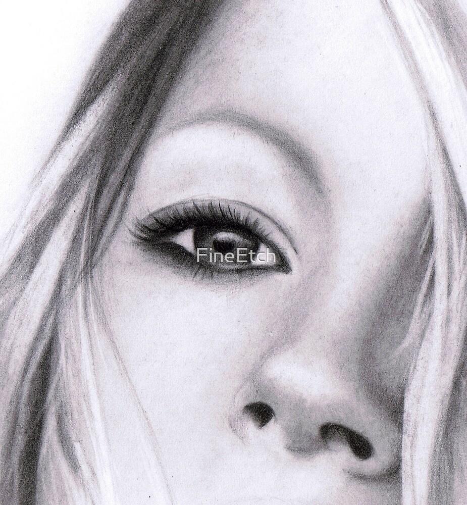Kate's Eye by FineEtch