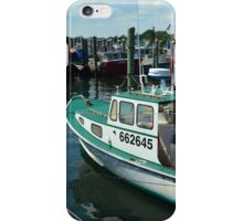 Lobster Boat at Point Judith, RI [10] iPhone Case/Skin