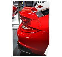 Porsche GT2 rear wing Poster