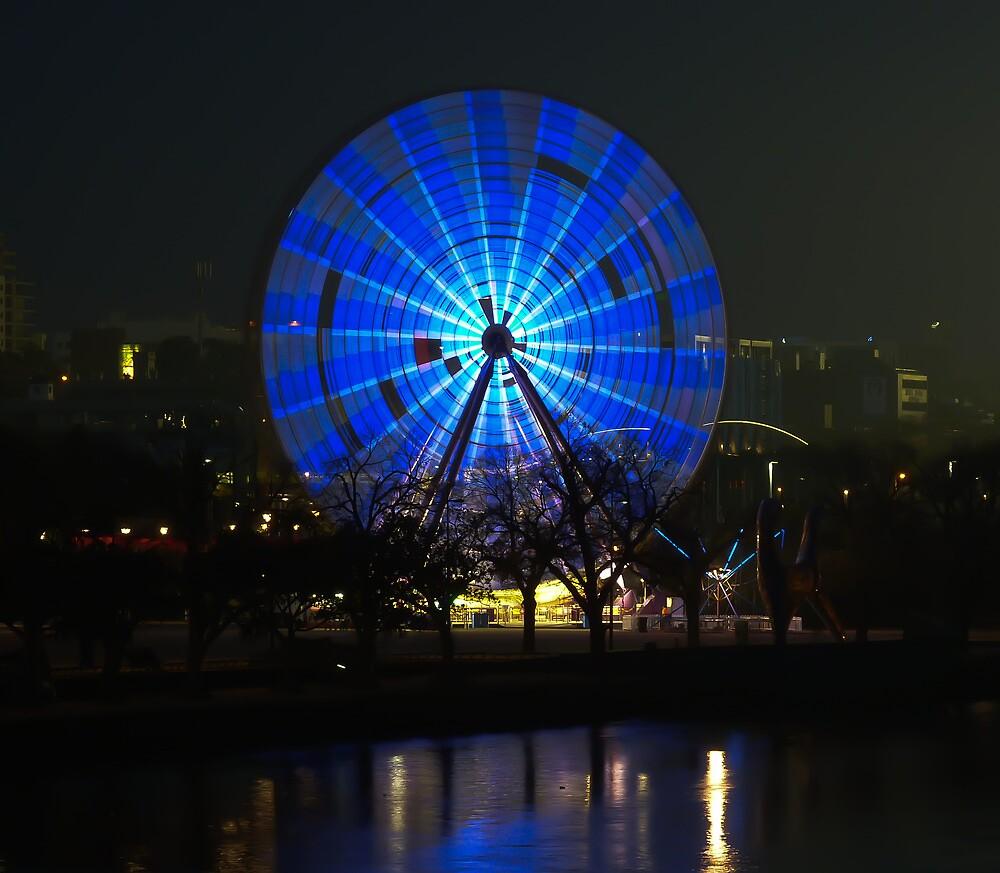 Ferris wheel - Birrarung Marr, Melbourne by Ben |  Greg