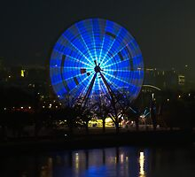 Ferris wheel - Birrarung Marr, Melbourne by Ben |  Greg
