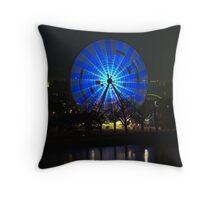 Ferris wheel - Birrarung Marr, Melbourne Throw Pillow