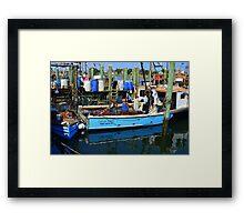 Small Fishing Trawler at Point Judith, RI [11] Framed Print