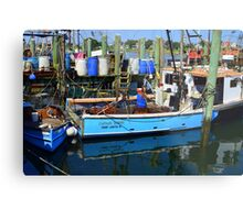 Small Fishing Trawler at Point Judith, RI [11] Metal Print