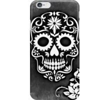 Skull And Black Crossbones iPhone Case/Skin