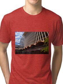 Downtown Spokane Washington Tri-blend T-Shirt