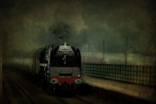 The Torbay Express by Catherine Hamilton-Veal  ©