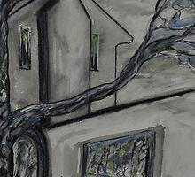 Everglades Gardens, Leura - Sketch by Julie-Ann Vellios