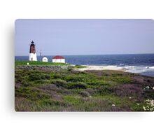 The Point Judith, RI Lighthouse [12] Canvas Print