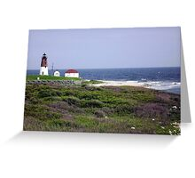 The Point Judith, RI Lighthouse [12] Greeting Card