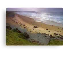 Freshwater West- Later. Canvas Print