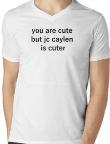 jc cute Mens V-Neck T-Shirt