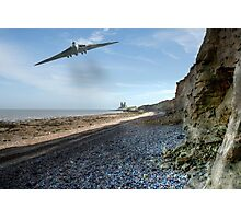 Vulcan Over Reculver Photographic Print