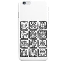 Transformers Rogue Gallery iPhone Case/Skin