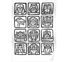 Transformers Rogue Gallery Poster