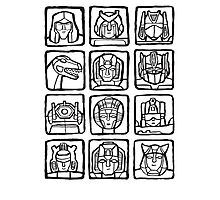 Transformers Rogue Gallery Photographic Print