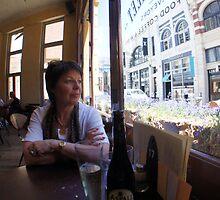 Breakfast near Tiffany's  by Ken Tregoning