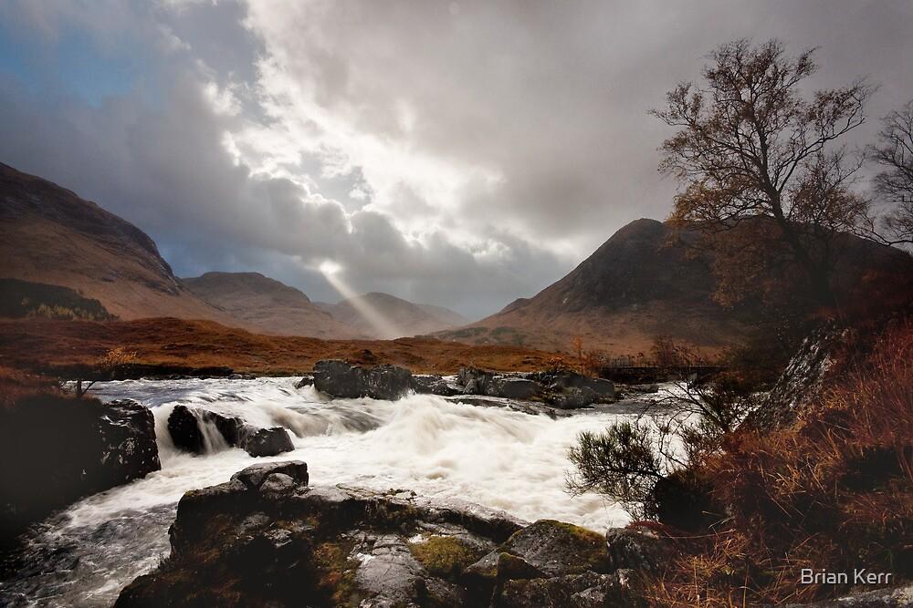 The Wild Glen Etive by Brian Kerr