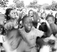 School is Out! - Burkina Faso by Nick Bradshaw