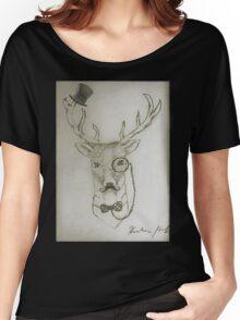 Gentleman Deer Women's Relaxed Fit T-Shirt