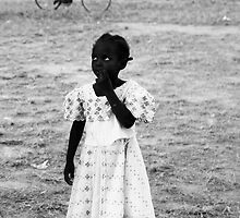 Cutest Girl in Africa - Burkina Faso by Nick Bradshaw