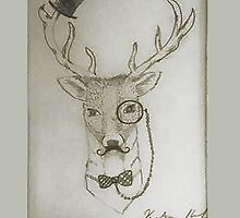 Gentleman Deer by lovecooks