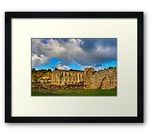 Rievaulx Abbey Framed Print