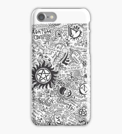 Supernatural Theme iPhone Case/Skin