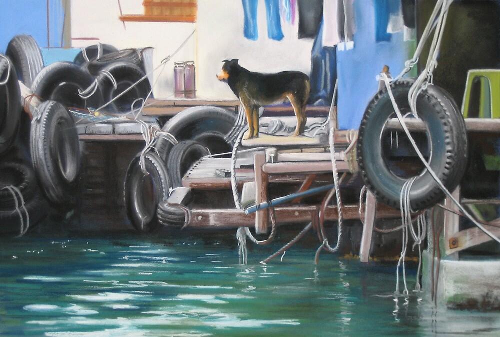 Abadeen Guard Dog by gwyntay
