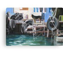 Abadeen Guard Dog Canvas Print
