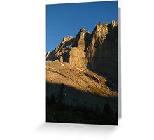 Cliffs of Sunset, Doldenhornhütte, Switzerland 2015 Greeting Card