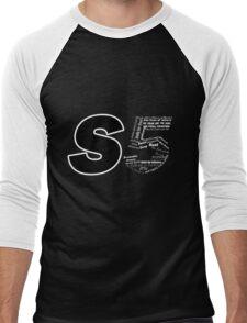 Castle S5 Men's Baseball ¾ T-Shirt