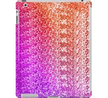 Trendy Bright Ombre Textured  iPad Case/Skin