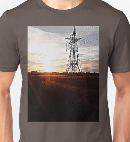 sunset walk Unisex T-Shirt