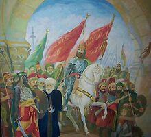 OSMANLI ISTANBUL A GIRIS  by yavuz saraçoğlu