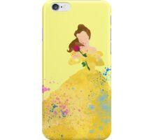 Disney // Belle Watercolor iPhone Case/Skin