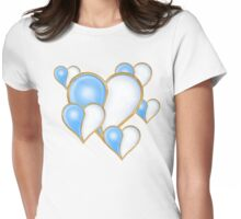 I LOVE WATER 4  Womens Fitted T-Shirt