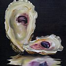 Oyster Shell Reflections by Phyllis Beiser