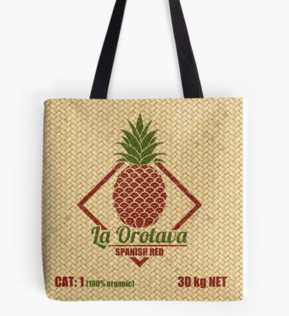 Fruits - Pineapple Basket Tote Bag