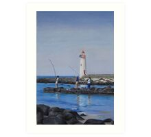 Port Fairy Lighthouse Art Print