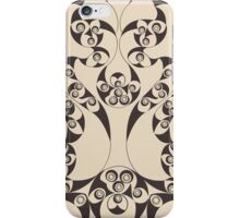 Celtic Loops Natural iPhone Case/Skin