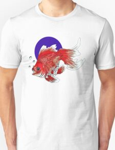 Red cap oranda fish T-Shirt