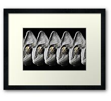 Abstract Chameleon Framed Print