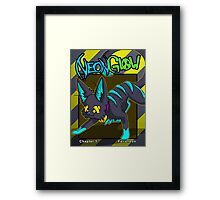 Felisneon Cover Framed Print