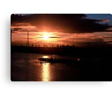 The Bright Side of Industry Canvas Print